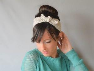 Kravat Modeli Örgü Saç Bandı Nasıl Yapılır?