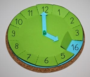 Okul Öncesi Saat Öğretme Etkinliği