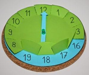 Okul Öncesi Saat Öğretme