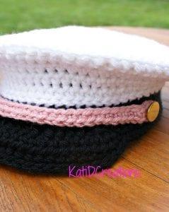Örgü Kaptan Şapkası Nasıl Yapılır? 12
