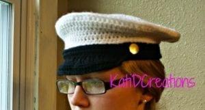 Örgü Kaptan Şapkası Nasıl Yapılır? 13