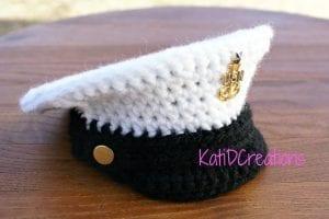 Örgü Kaptan Şapkası Nasıl Yapılır?