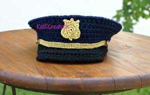 Örgü Kaptan Şapkası Nasıl Yapılır? 1