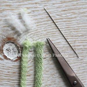 Penye İpten Salıncak Yapımı 11