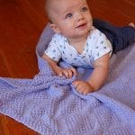 Pirinç Örgü Baklava Desenli Battaniye Yapılışı