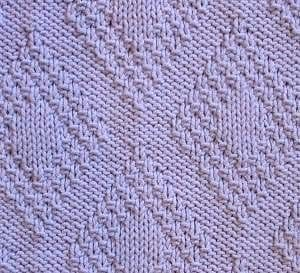 Pirinç Örgü Baklava Desenli Battaniye Yapılışı 1