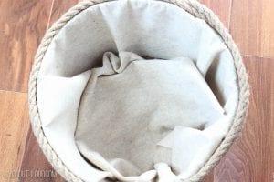 Plastik Çamaşır Sepeti Süsleme 11