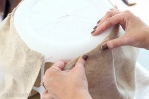 Plastik Çamaşır Sepeti Süsleme 1