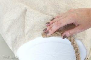 Plastik Çamaşır Sepeti Süsleme 3
