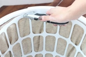 Plastik Çamaşır Sepeti Süsleme 5