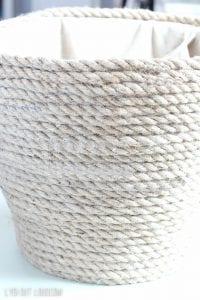 Plastik Çamaşır Sepeti Süsleme 6