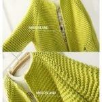 Renkli Örgü Uzun Hırka Modelleri 16