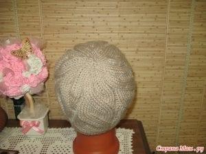 Videolu, Diyagonal Örgü Şapka Yapılışı 27