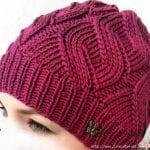 Videolu, Diyagonal Örgü Şapka Yapılışı 29
