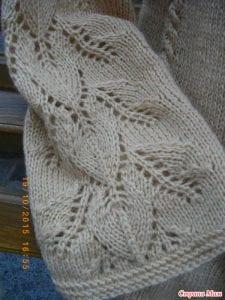 Yaprak Desenli Bluz Yapımı 21