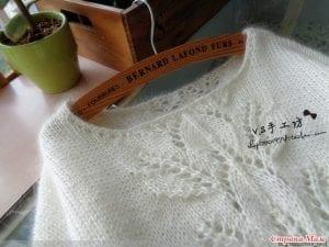 Yaprak Desenli Bluz Yapımı 28