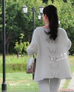 Yaprak Desenli Bluz Yapımı 29