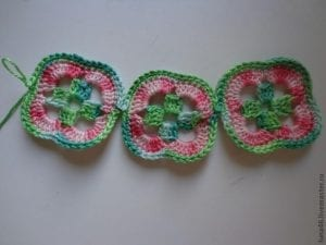 5 Motiften Çiçek Battaniye Nasıl Yapılır? 5