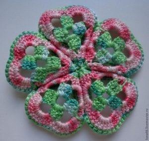 5 Motiften Çiçek Battaniye Nasıl Yapılır? 8
