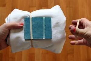 Batik Boyamada Damalı Desen Nasıl Yapılır? 12