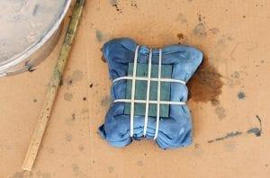 Batik Boyamada Damalı Desen Nasıl Yapılır? 19