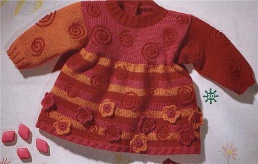 Bebek Jilesi Örgü Modelleri 11