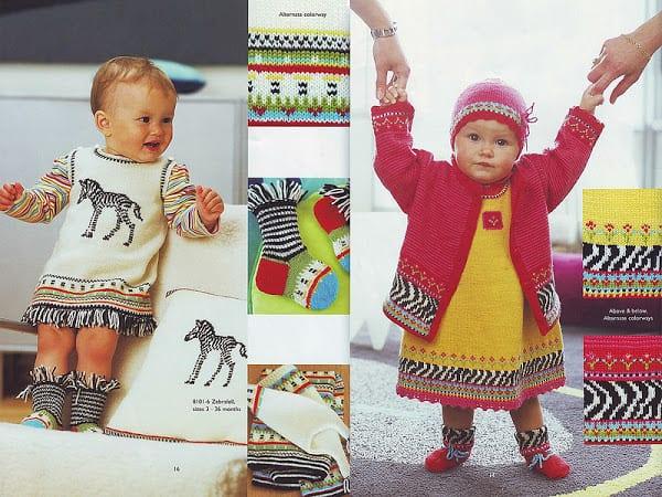 Bebek Jilesi Örgü Modelleri 3