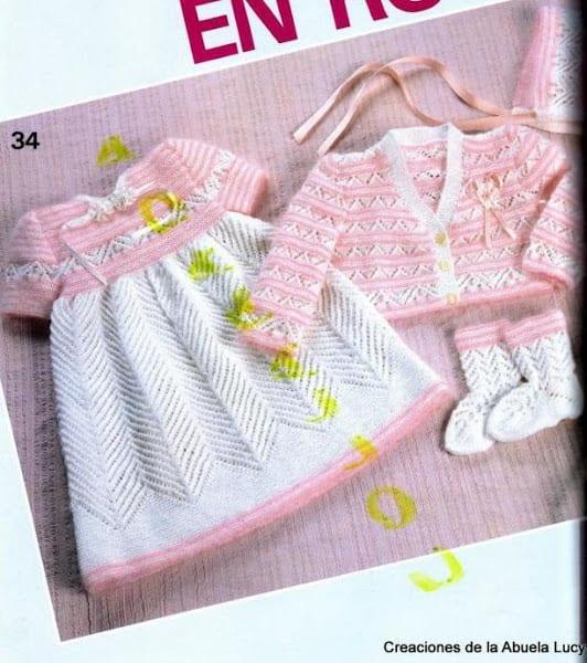Bebek Jilesi Örgü Modelleri 42