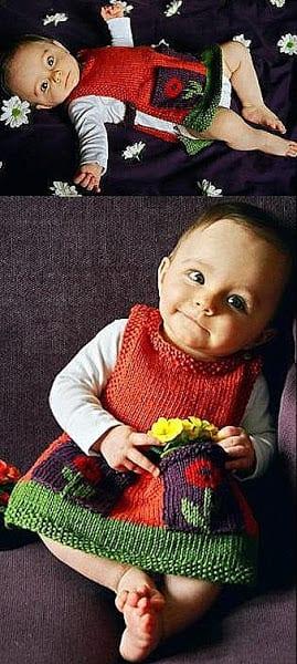 Bebek Jilesi Örgü Modelleri 8