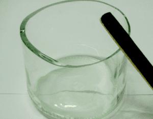 Cam Şişeden Mumluk Nasıl Yapılır? 5