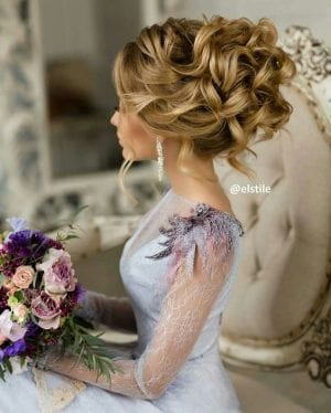 90 Değişik ve En Güzel Gelin Saçı Modelleri