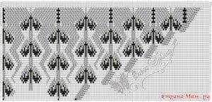 Meşe Yaprakları Şal Modeli Yapılışı 10