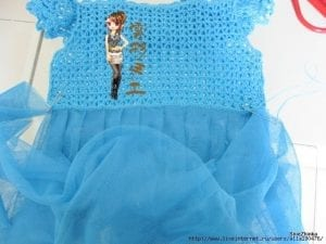 Örgü Tütü Elbise Yapımı 10