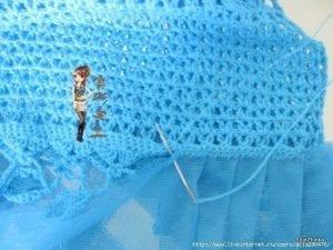 Örgü Tütü Elbise Yapımı 5
