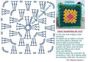 Penye İpten Motifli Sepet Yapımı 2
