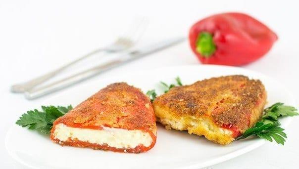 Peynirli Kırmızı Biber Tarifi