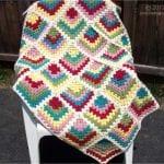 Renkli Kare Bebek Battaniyesi Yapımı 2