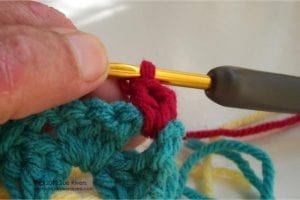 Renkli Kare Bebek Battaniyesi Yapımı 6