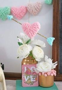 Sevgililer Günü İple Sarılmış Kalpler Yapımı 2