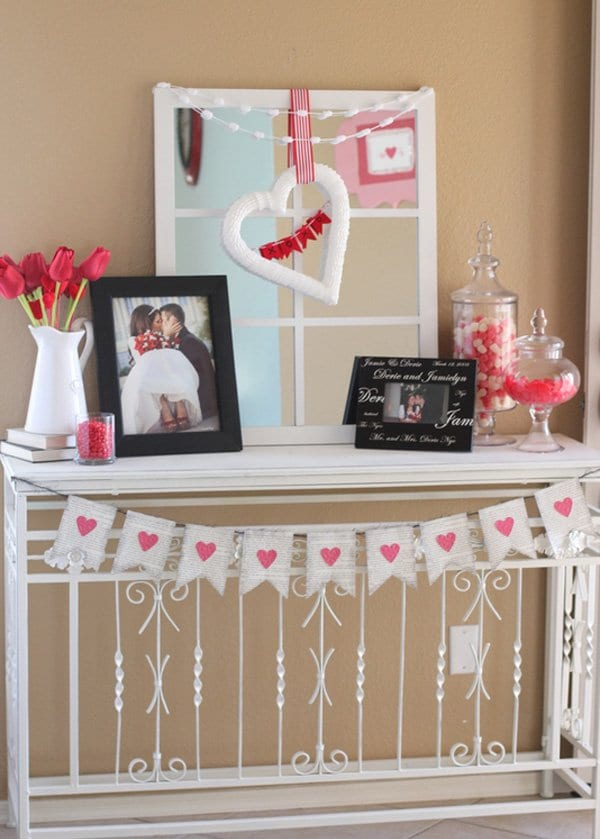 diy home decor ideas for valentine