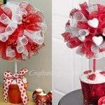 Sevgililer Gününe Özel Top Çiçek Yapımı 7