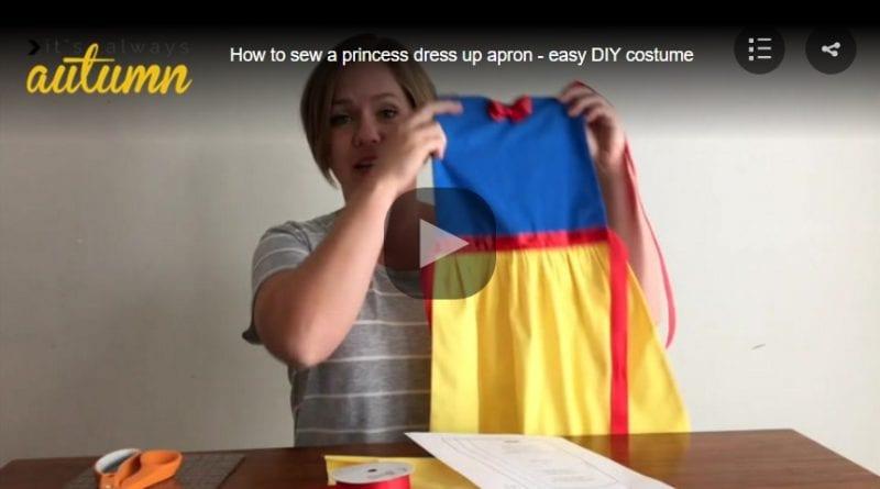 Videolu, Cinderella Mutfak Önlük Dikimi 5