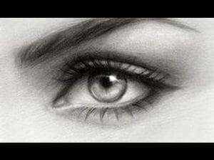 Videolu, Kara Kalem Göz Nasıl Çizilir?