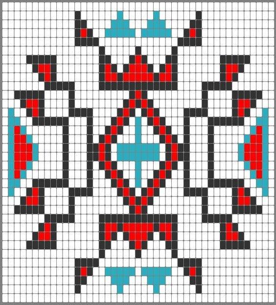 Wayuu Mochilla Bag Chart 22