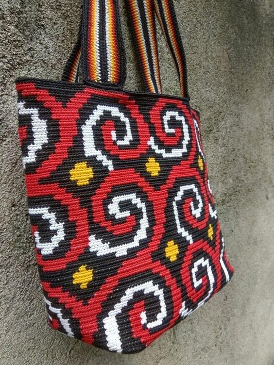 Wayuu Mochilla Bag Chart 24