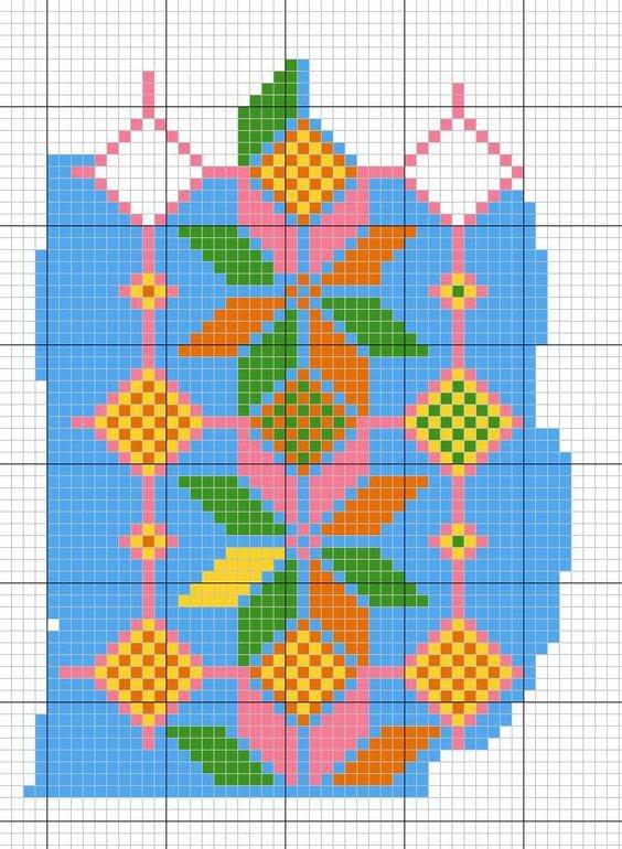Wayuu Mochilla Bag Chart 27