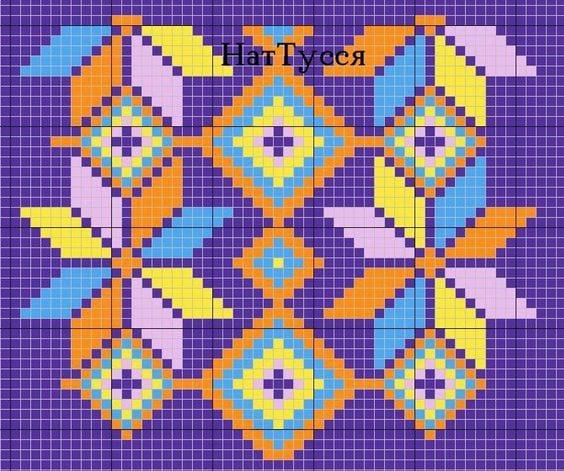 Wayuu Mochilla Bag Chart 39