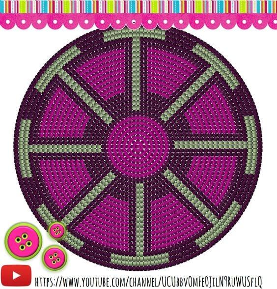 Wayuu Mochilla Bag Chart 50