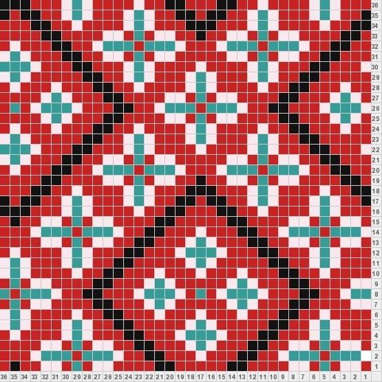 Wayuu Mochilla Bag Chart 56