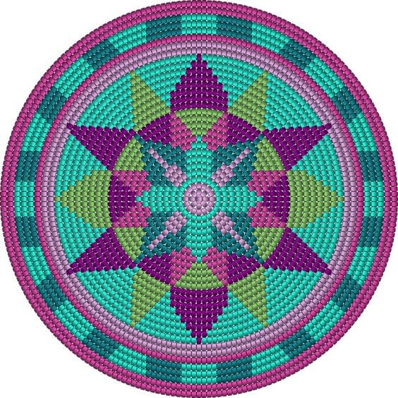 Wayuu Mochilla Bag Chart 61